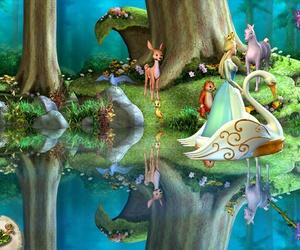 barbie and el lago de los cines image