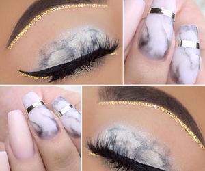 beautiful, cosmetic, and eyes image