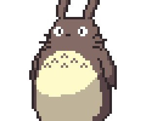 pixel, sticker, and totoro image