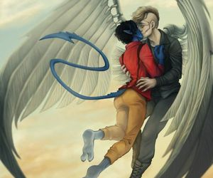 angel, fanart, and x men image