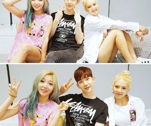 hyoyeon, min, and snsd image