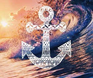 anchor, sea, and tumblr image