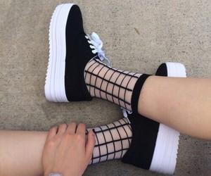 adidas, legs, and platform image