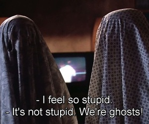 funny, cute, and ghosts image