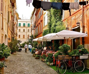 italy, street, and rome image