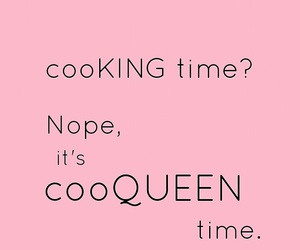 cook, food, and pink image