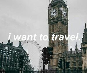 london, travel, and world image