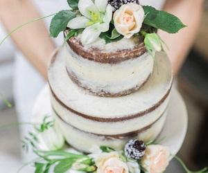 boho, cake, and wedding image