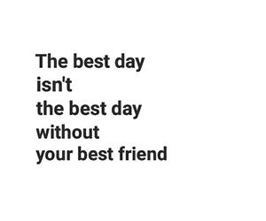 black & white, friend, and friendship image