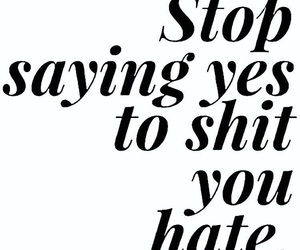 quotes, shit, and hate image