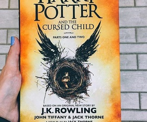 harry potter, book, and cursed child image