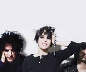 Crystal Castles and robert smith image