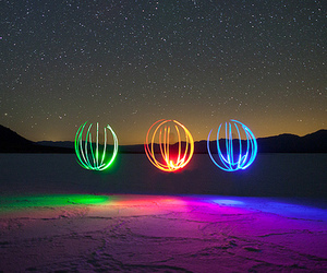 light, stars, and color image