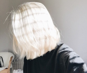 hair, white, and grunge image