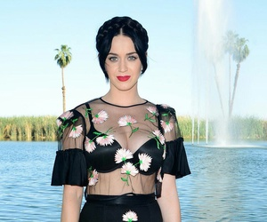 black, katy parry, and fashion image