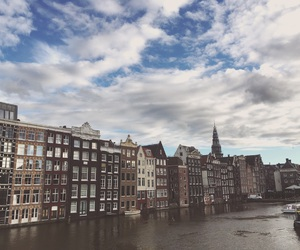 amsterdam, beauty, and boat image