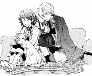 manga, shirayuki, and akagami no shirayukihime image