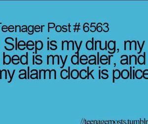 sleep, teenager post, and bed image
