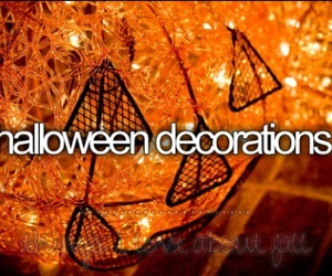 Halloween, decoration, and fall image