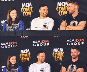 comic con, lincoln, and Marvel image