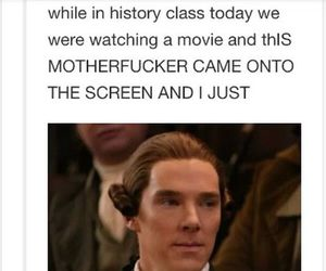 funny, live, and benedict cumberbatch image