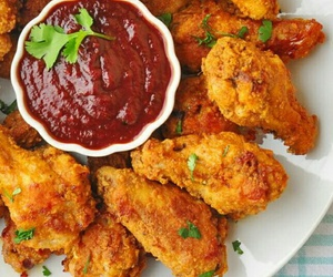 food, boy, and Chicken image
