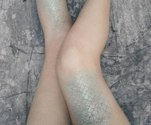 mermaid, fantasy, and legs image