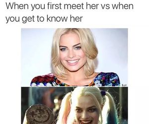 suicide squad, funny, and harley quinn image