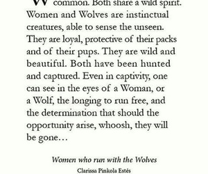 women wolves strength image
