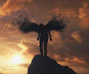angel, fairy, and hunter image