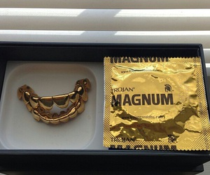 gold, Magnum, and ghetto image
