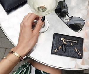 dress, pocket, and wine image