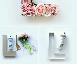 diy, flowers, and creative image
