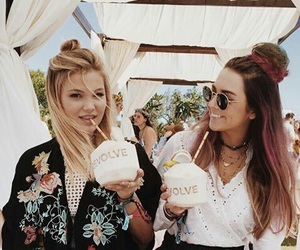 olivia holt, coachella, and disney image