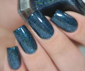 blue, glitter, and fashion image