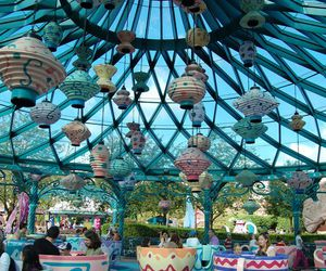 disney and mad tea party image
