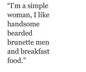 beard, boyfriend, and breakfast image