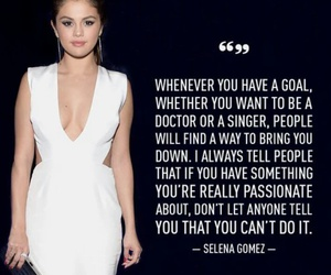 selena gomez, quotes, and goals image