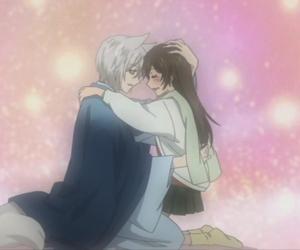 anime couple and tomoe image