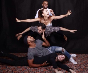 the 100, lindsey morgan, and ricky whittle image