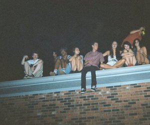boy, friends, and night image