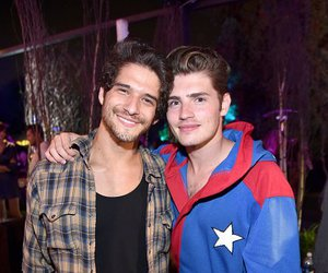 tyler posey, gregg sulkin, and boy image