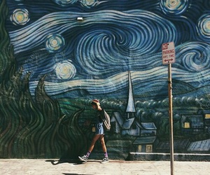 aesthetic, art, and mural image