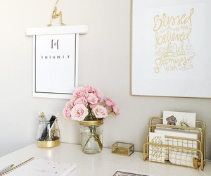 decor, decoration, and pink image