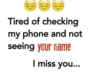 missing, tired, and love image