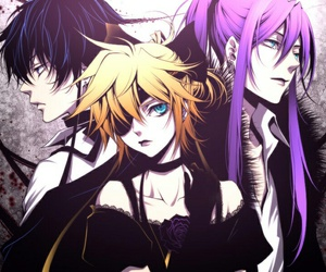 vocaloid, imitation black, and kaito shion image