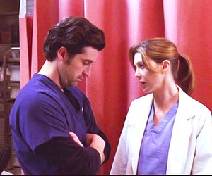 greys anatomy, meredith grey, and derek shepherd image