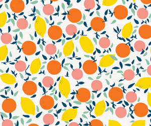 art, fruit, and pattern image