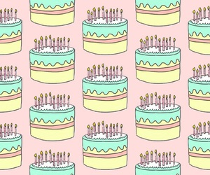 background, cakes, and colors image