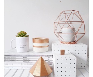 decor, inspiration, and rose gold image